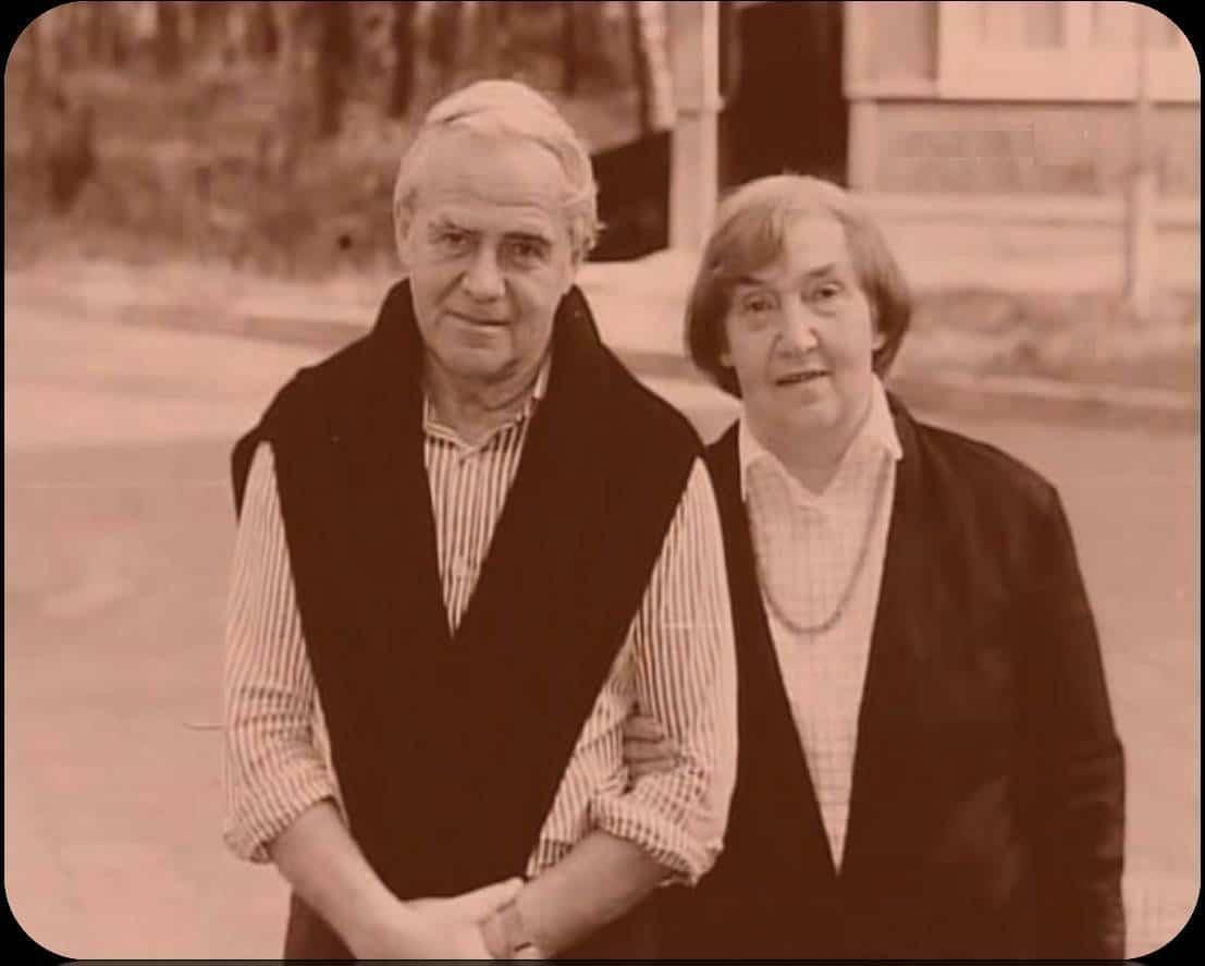Даниил Гранин с женой