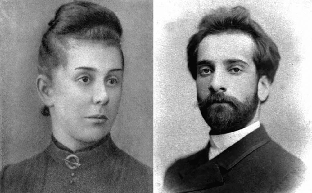 Исаак Левитан и Анна Турчанинова
