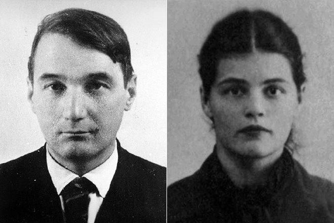 Лев Гумилев и Наталья Варбанец