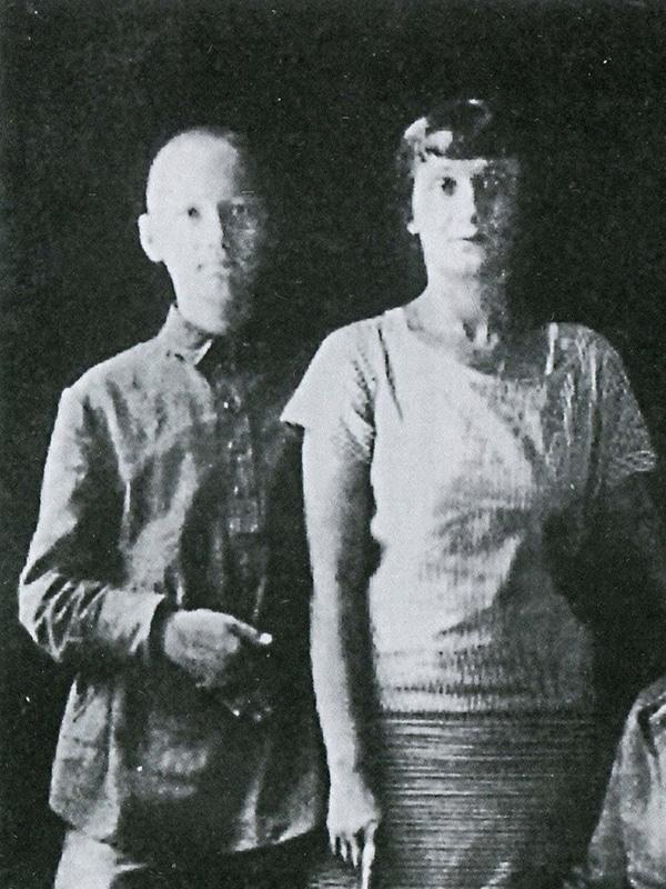 Лев Гумилев и Анна Ахматова