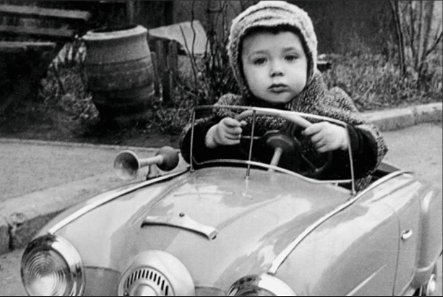 Ян Цапник в детстве