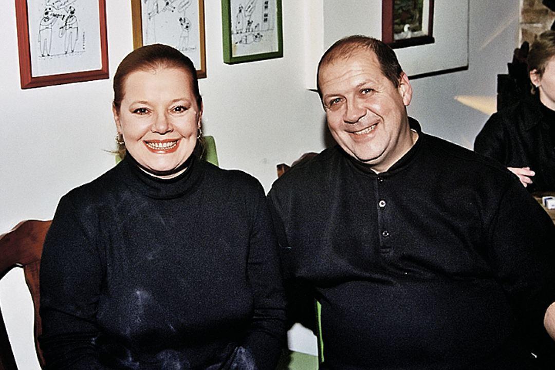 Людмила Сенчина с Владимиром Андреевым