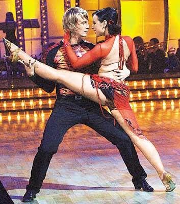 Алексей Гоман в шоу «Танцы со звездами»