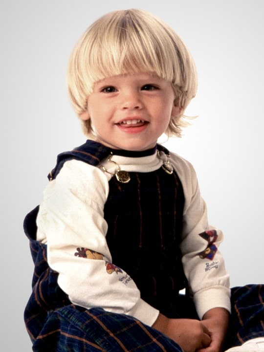 Коул Спроус в детстве