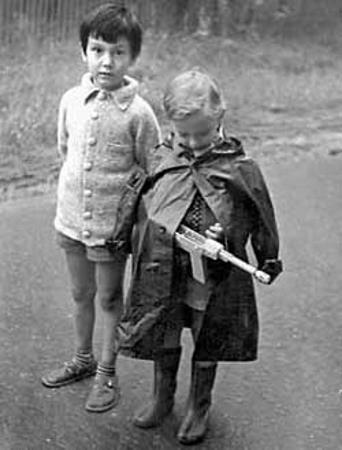 Егор Кончаловский в детстве