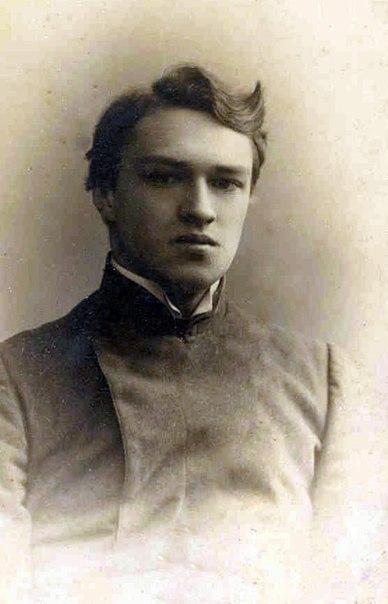Иван Шмелев в юности