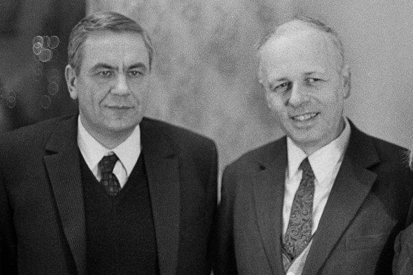 Андрей Сахаров и Игорь Шафаревич