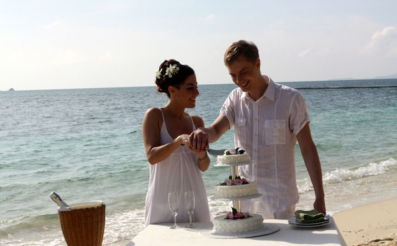 Алексей Гоман на свадьбе