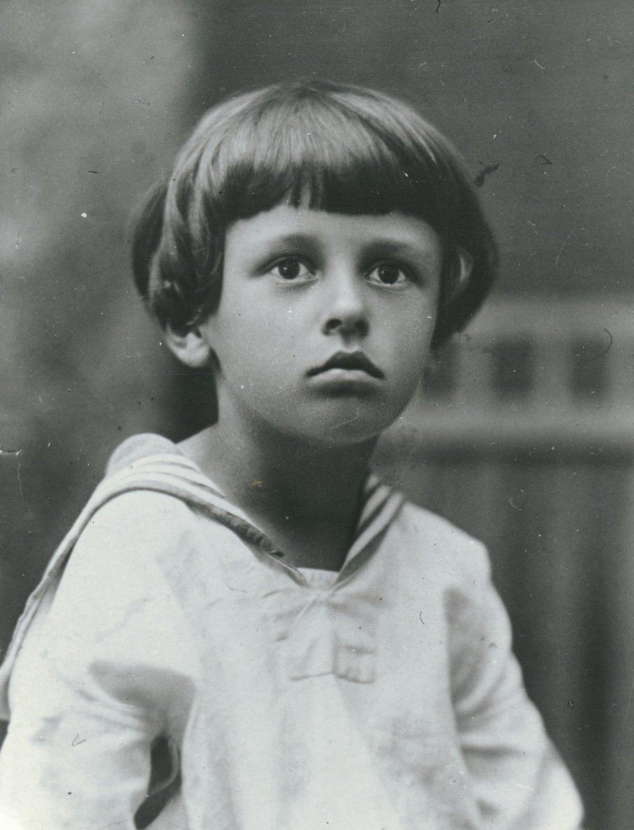 Андрей Сахаров в детстве
