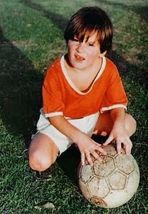 Лионель Месси в детстве