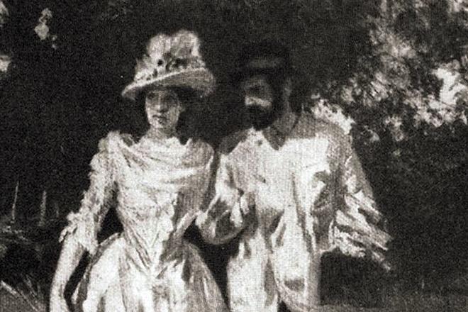 Исаак Левитан с Софьей Кувшинниковой