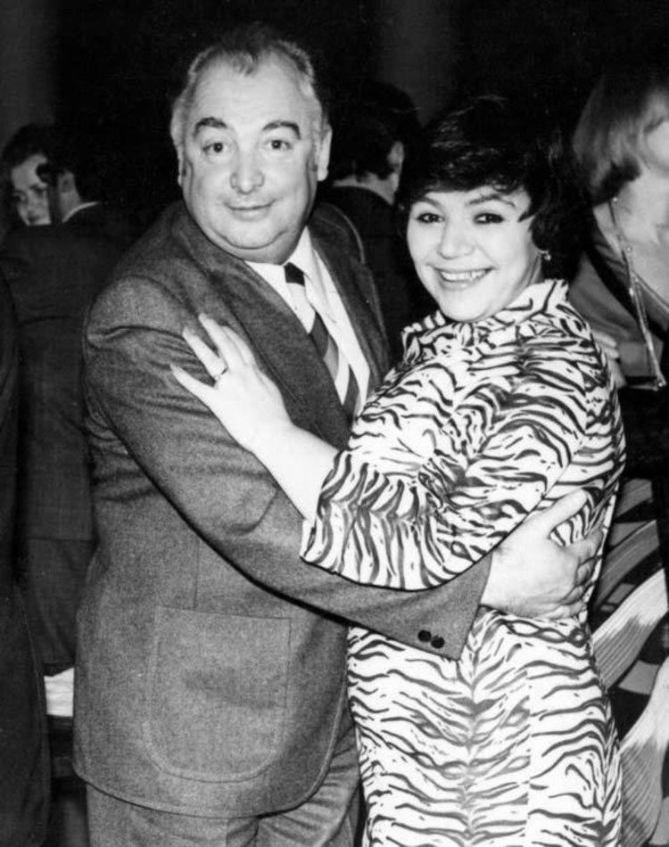 Майя Кристалинская с Эдуардом Барклаем