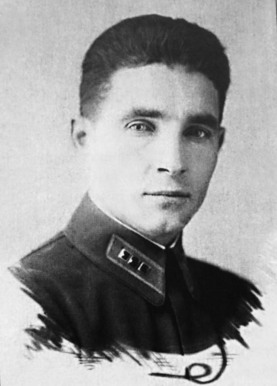 Василий Маргелов в молодости