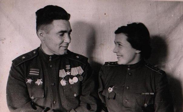 Василий Маргелов с женой Анной