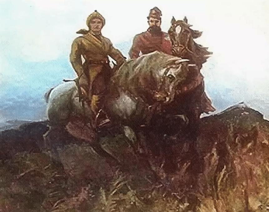 Салават Юлаев с Пугачевым
