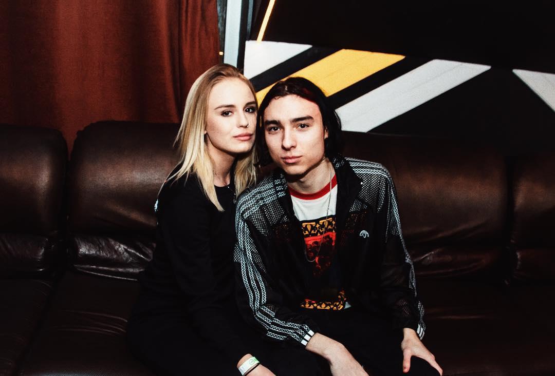 Милена Безбородова с Флэшем