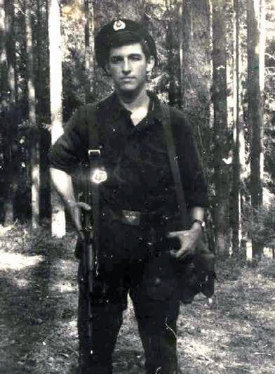 Ян Цапник в армии. Служба в Афганистане
