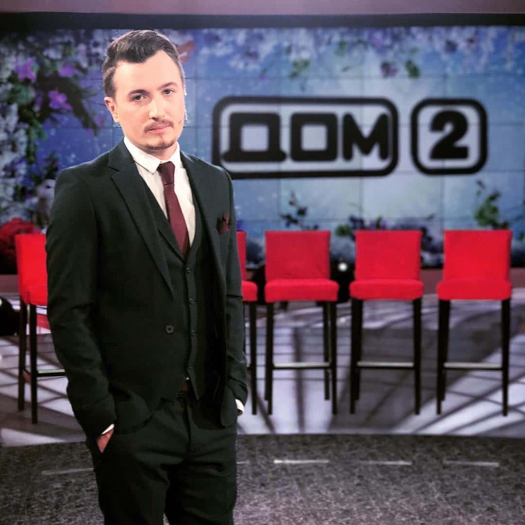 Влад Кадони ведущий «Дом-2»