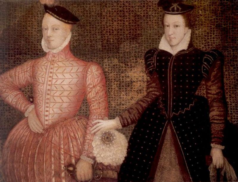 Мария Стюарт и Генрих Стюарт