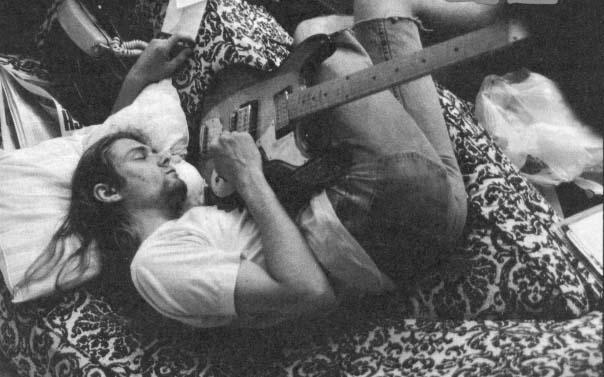 Курт Кобейн в депрессии