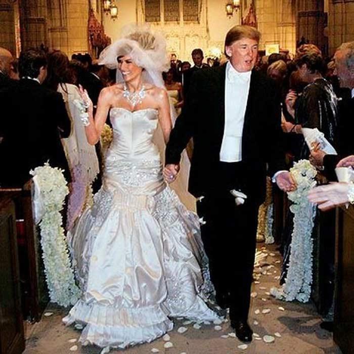 Мелания Трамп свадьба с Дональдом Трампом