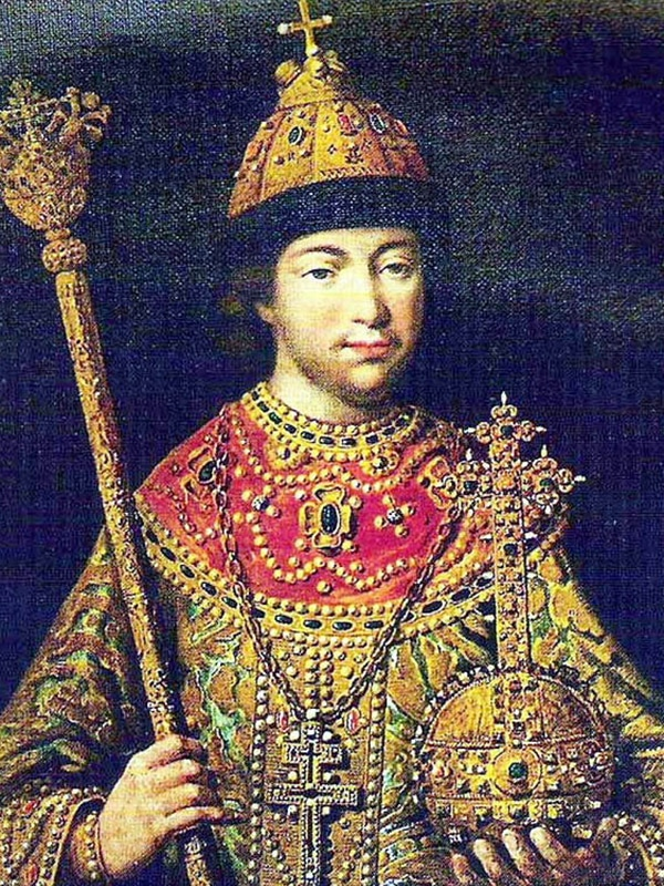 Портрет Михаила Романова в юности