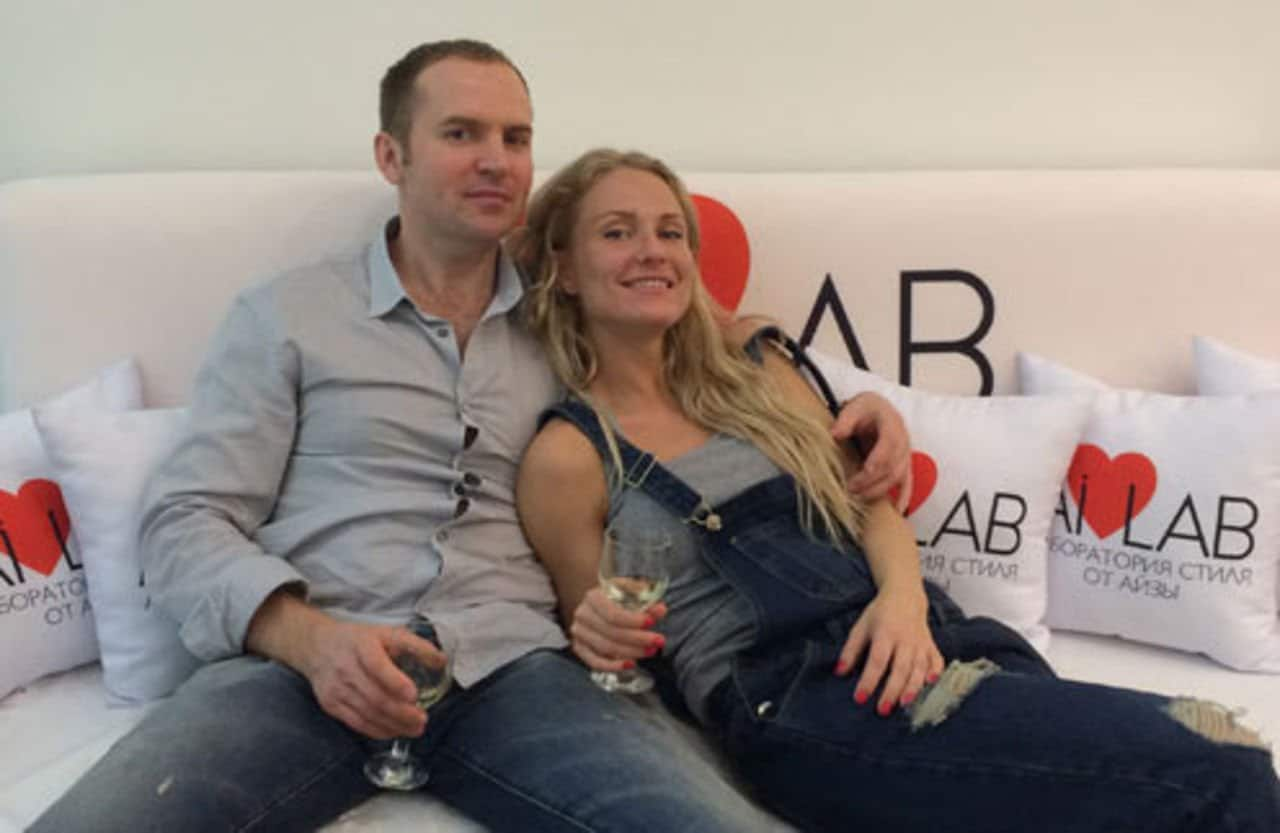 Катя Гордон с Сергеем Жориным