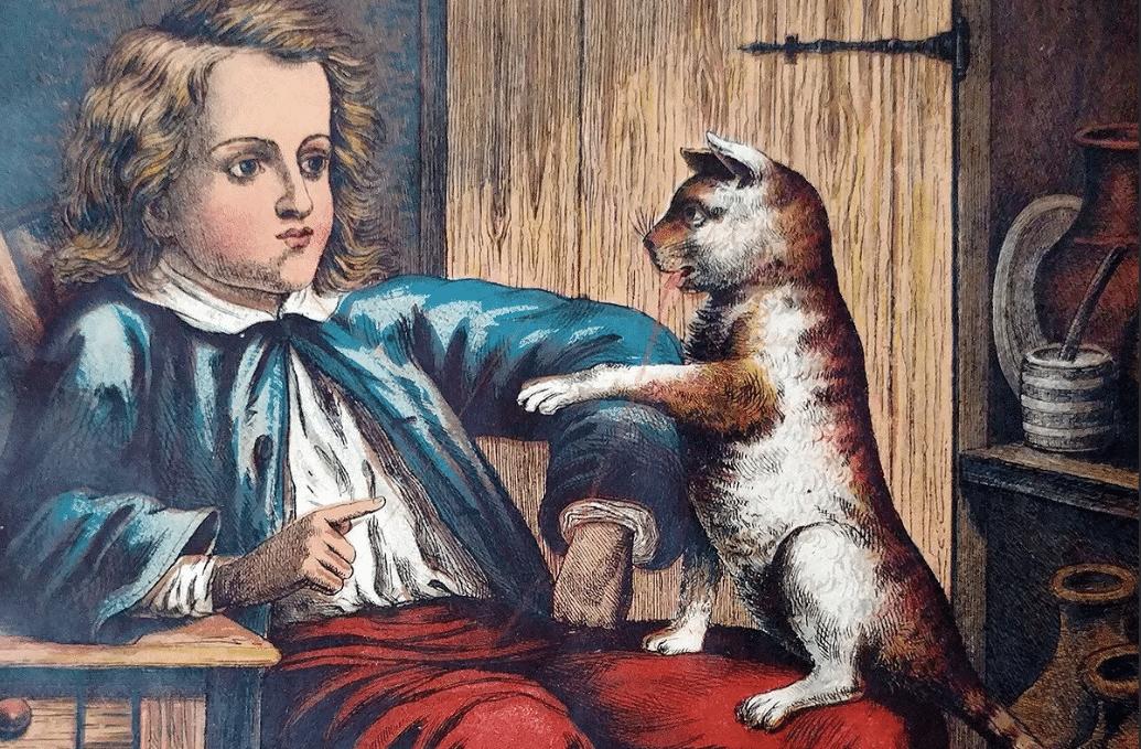 Портрет Шарлья Перро в детстве