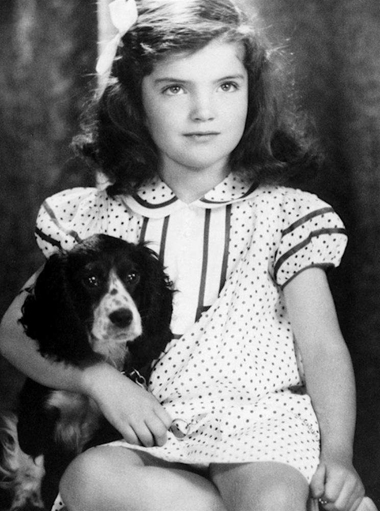 Жаклин Кеннеди в детстве