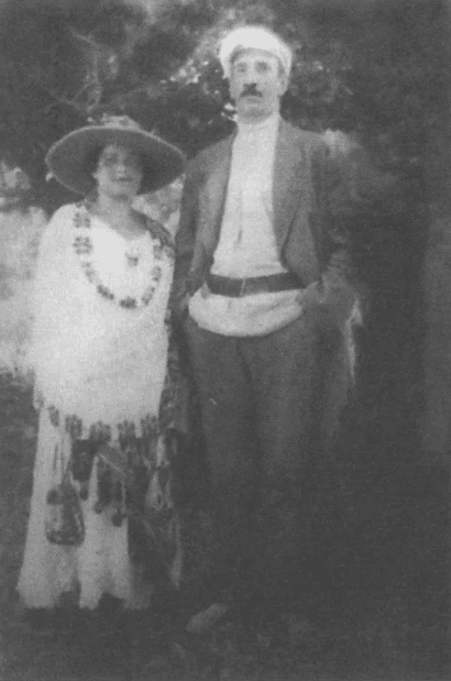 Александр Грин и Нина Миронова