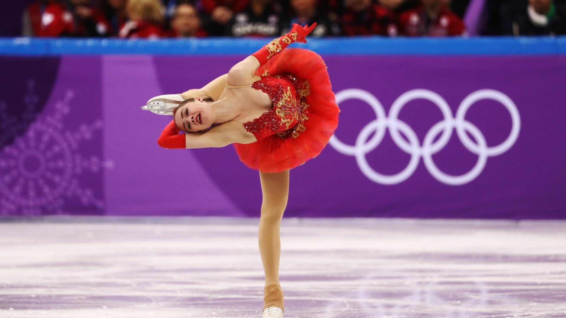 Алина Загитова на Олимпийских играх