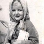 Светлана Лазарева в детстве