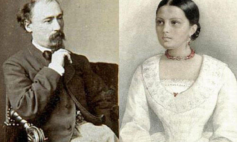 Николай Некрасов и Авдотья Панаева