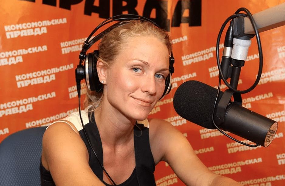 Катя Гордон на радио