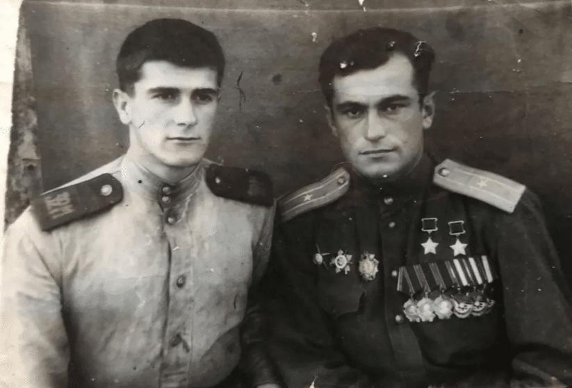 Амет-Хан Султан с братом Имраном