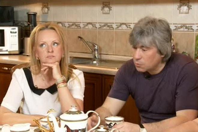 Светлана Лазарева с Валерием Кузьминым