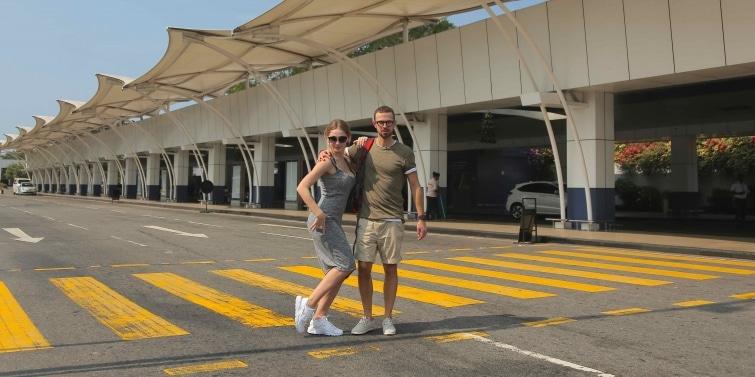 Антон Птушкин и Анастасия Ивлеева в Шри-Ланке