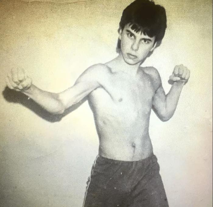 Максим Фадеев в юности