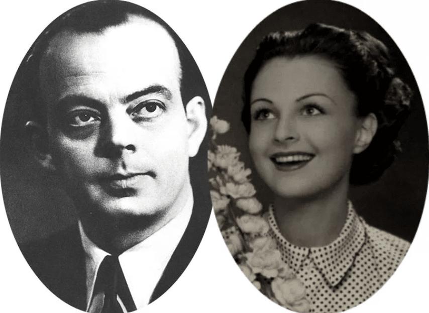 Антуан де Сент-Экзюпери и Луиза Вильморн