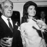 Жаклин Кеннеди с Аристотелем Онассисом