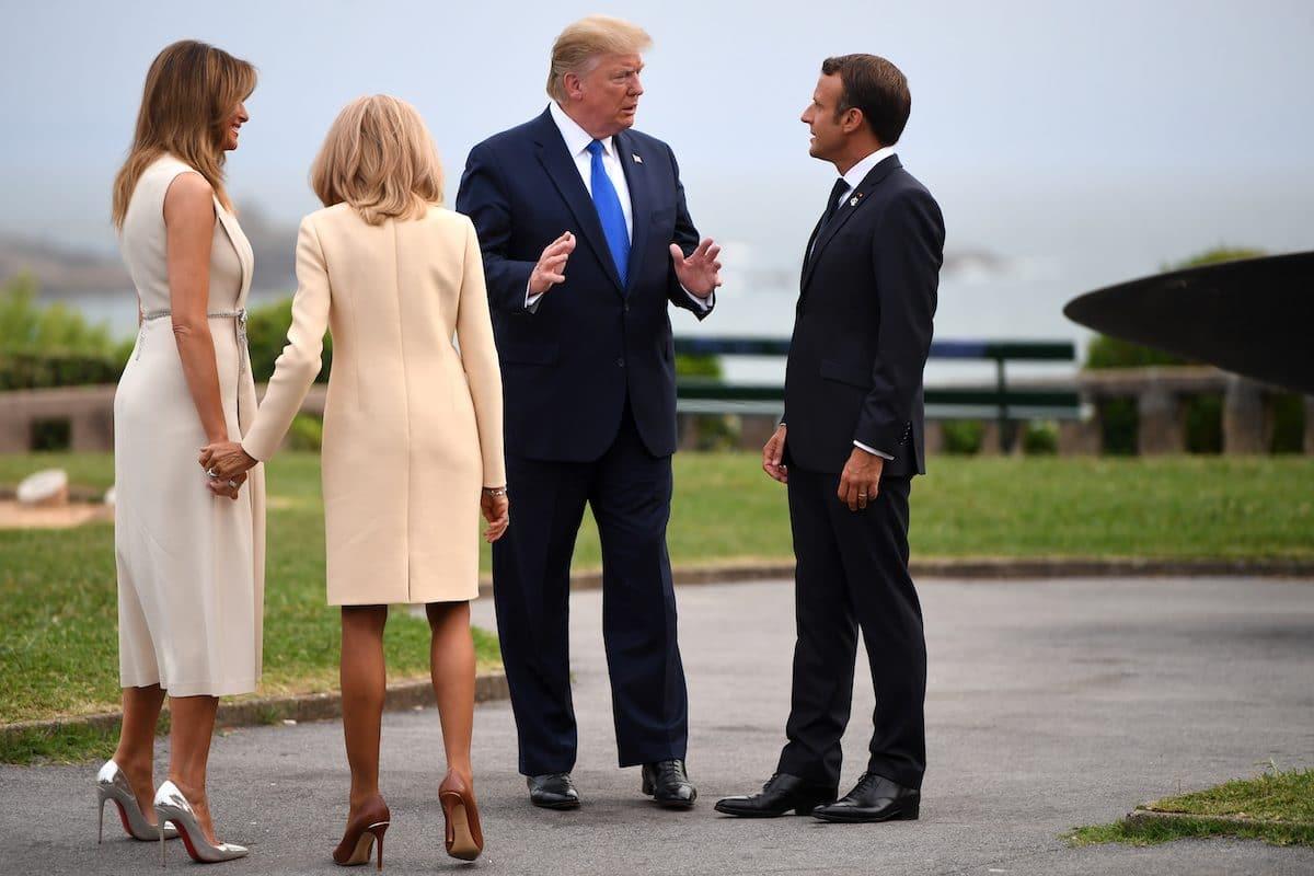 Мелания Трамп на саммите «G20» с Брижит Макрон