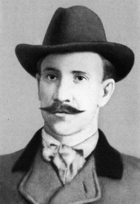 Александр Грин в молодости
