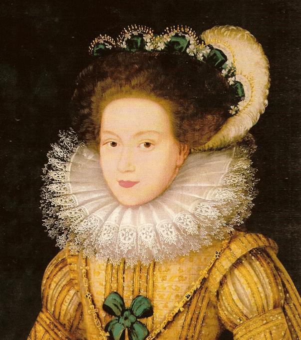 Портрет Мария Стюарт в юности