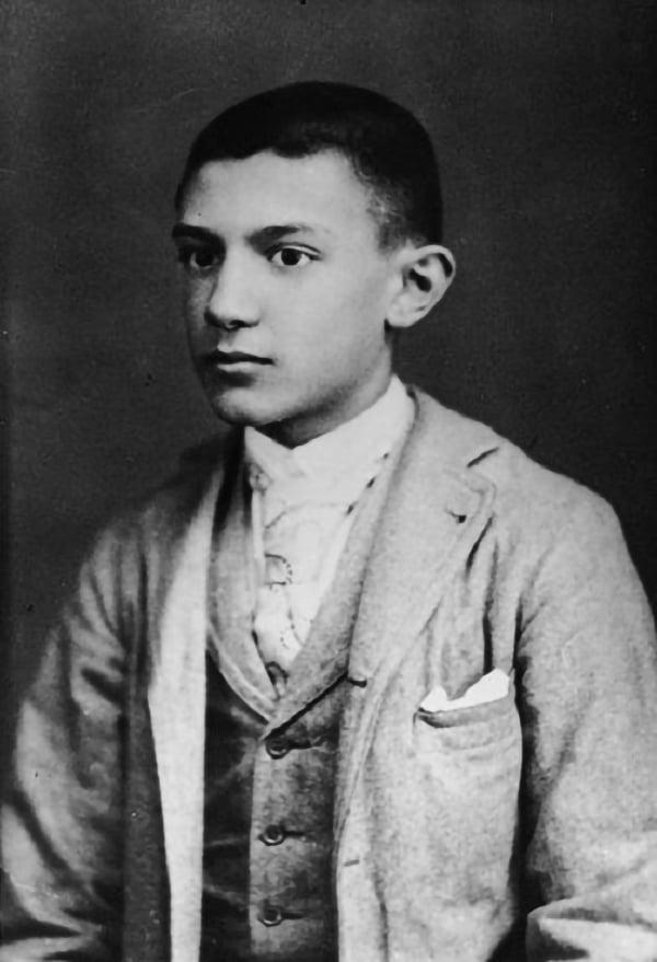 Пабло Пикассо в юности