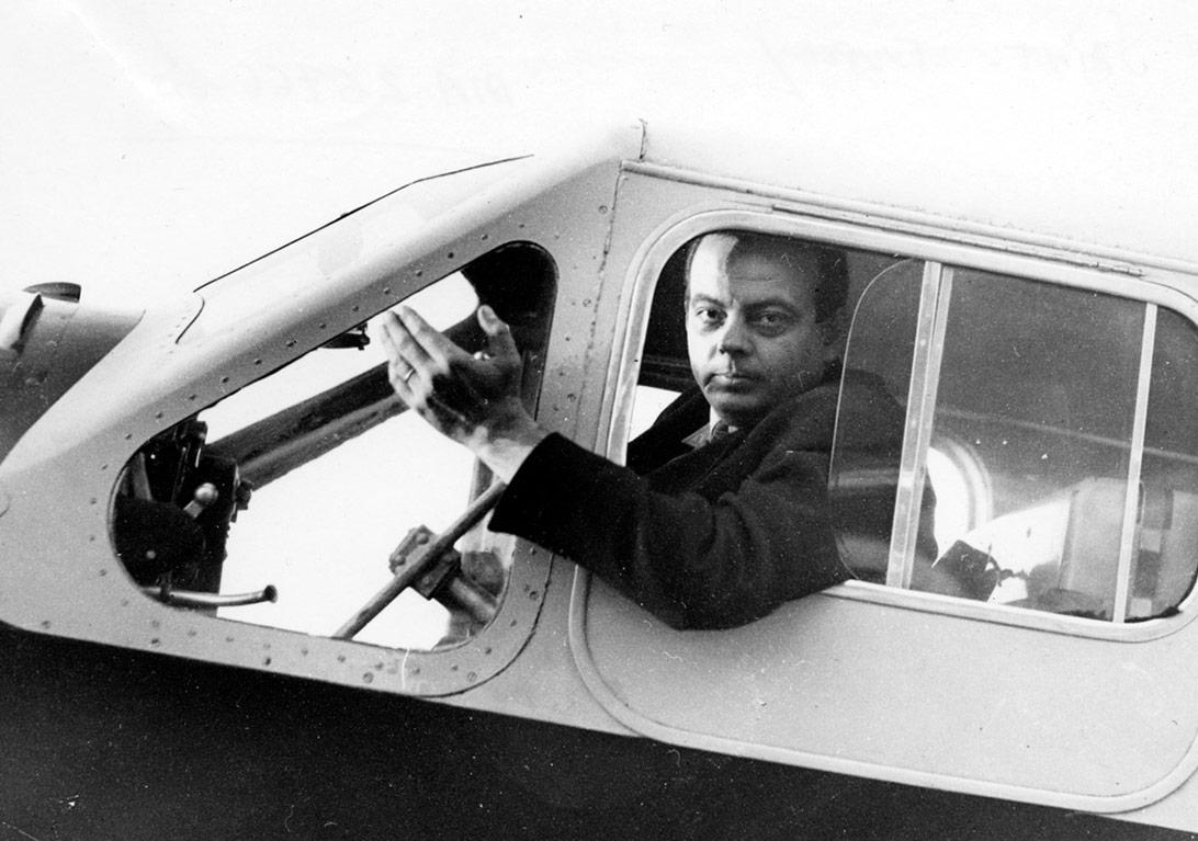 Летчик Антуан де Сент-Экзюпери