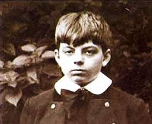 Антуан де Сент-Экзюпери в детстве