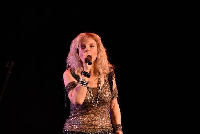 Джемма Халид на концерте