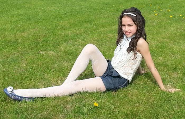 Алина Загитова в детстве
