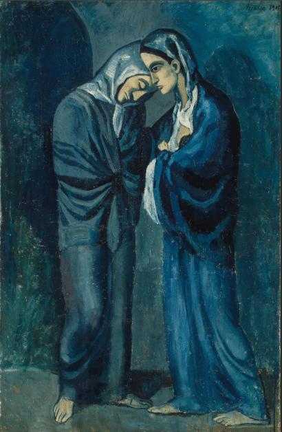 Картина Пабло Пикассо «Свидание»