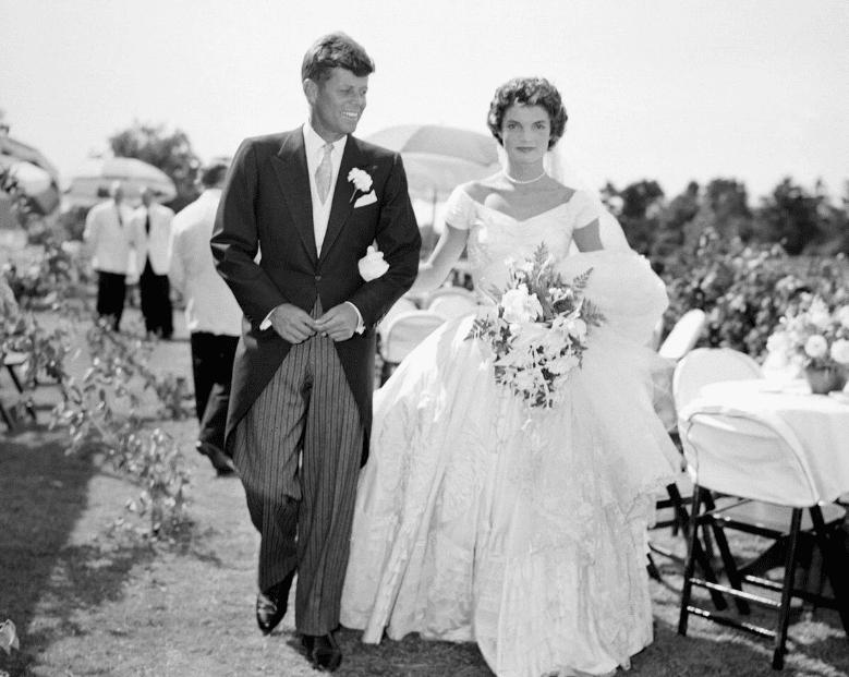 Свадьба Жаклин с Джоном Кеннеди